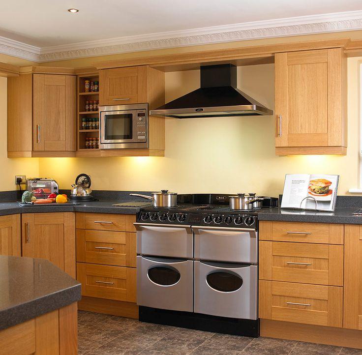 kitchens  natural wood shaker kitchens shaker kitchens in