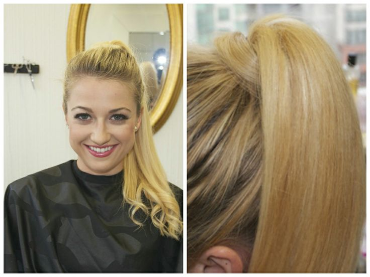 #Remy Ponytail Blonde clip-in extensions 20'' available from Pacific hair.  http://www.pacifichair.ca