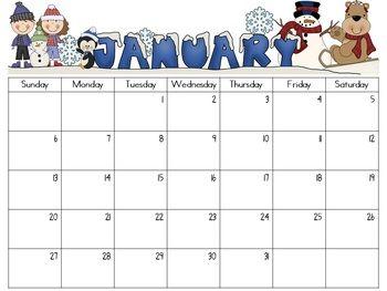 editable monthly calendars 2018 2019 organization editable