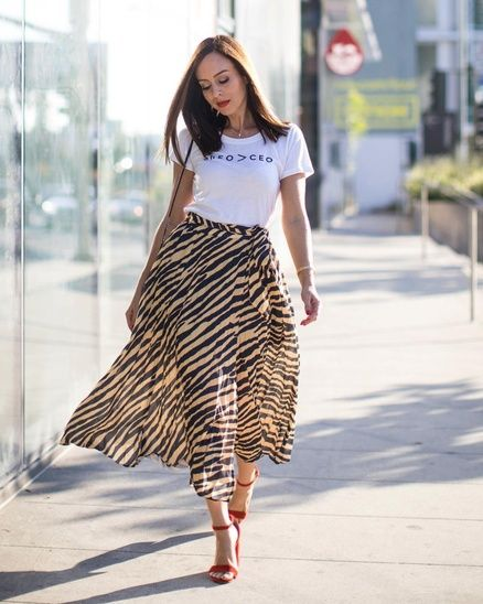 2655bdb69da7 Animal prints and graphic tees #ShopStyle #shopthelook #MyShopStyle  #fallstyle #OOTD