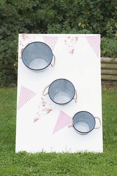 Bean bag toss - vintage wedding garden game ideas - now available to hire!