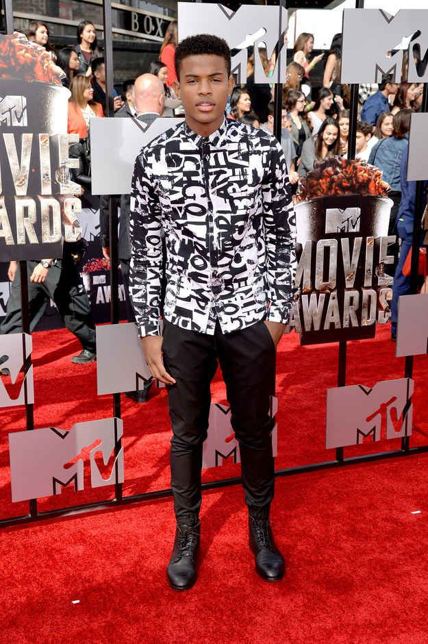 Trevor Jackson | All The Looks From The MTV Movie Awards Red Carpet