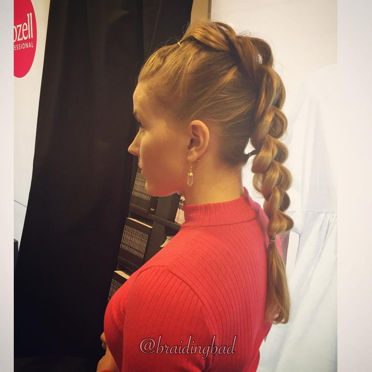 "Heli sanoo Instagramissa: ""Gorgeous #threestrandpullthroughbraid 😍 Such a rocking style 💪🤘!! . . #ilovememessut #iloveme #biozell #isijatytöt #suomiletit #fauxmohawk #braidinghair #braidideas #instabraids #letti #lettikampaus #letitys #hairstyles #peinados #plaitedhair #suomiletit #braidsforgirls #featuremeisijatytot #hotbraidsmara #kolmeosainenläpivetoletti #beyondtheponytail #featureaccount_ #braidinginspiration #inspirationalbraids #see_your_braids #3dpullthroughbraid #tophairfeatures"""