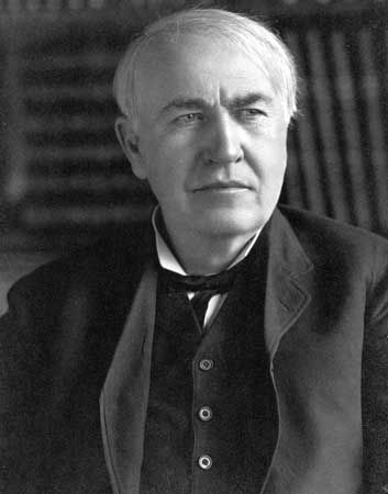 Thomas Alva Edison - http://www.thomasedison.com/Inventions.htm