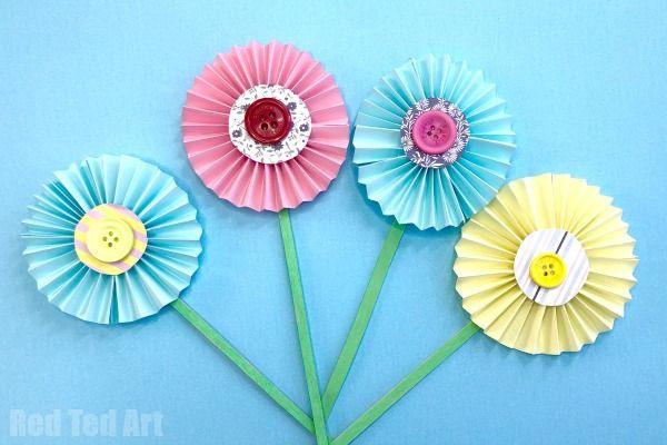 Flower Craft Ideas Wonderful Spring Summer Mother S Day Ideas