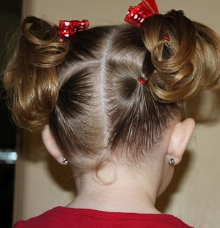 Totally used this one - perfect for all those short baby hairs that refuse to stay in a regular pigtail...