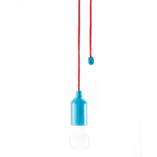 LOOOQS LED- Pull Lamp blue www.geminioctopus.com