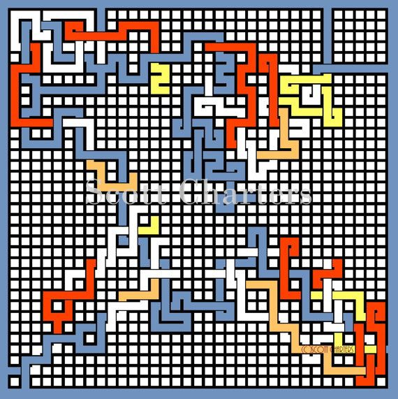 Downloadable Maze Art Print called X Weave.  Instant download.  The customer will receive 2 detailed PNG files. One is the answer...  Suitable for phone screen to wall art.  Watermark removed on purchase.