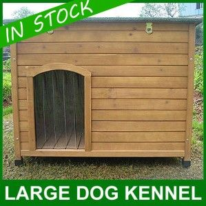 Large wooden dog kennel #dogkennel #kennel #house #puppy #outdoor #outside #garden #large #woodendogkennel