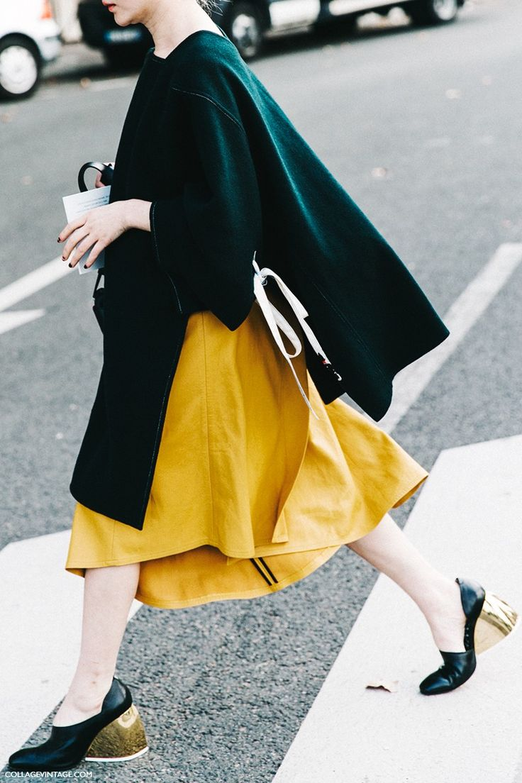 Pfw Paris Fashion Week Spring Summer 2016 Street Style Say Cheese Celine 10 Street Style Color