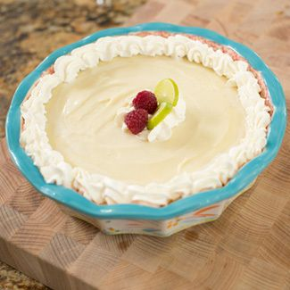 Jill Bauers White Chocolate Key Lime Pie