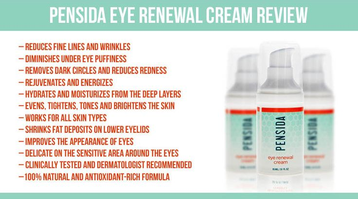 Pensida Eye Renewal Cream Review Puffy Eyes Dark Circles Wrinkles