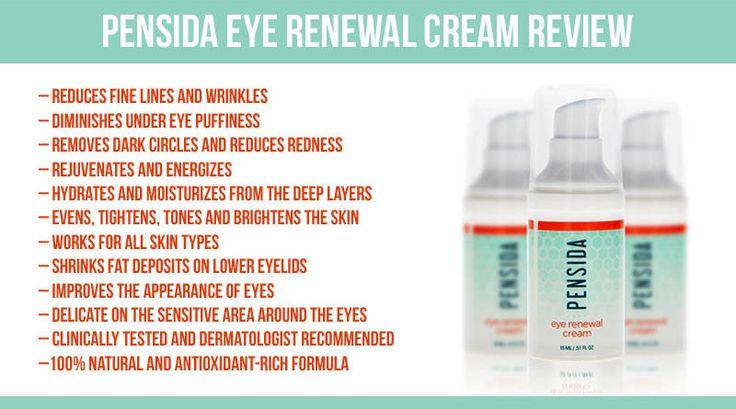 Pensida Eye Renewal Cream Review Puffy Eyes Dark Circles Wrinkles