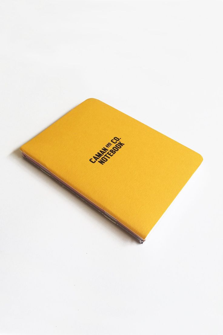 Camán & Co notebook