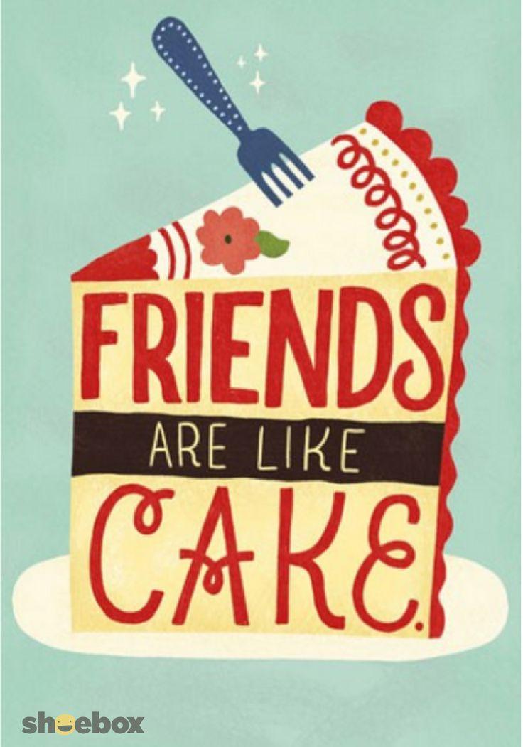 105 best shoebox images on pinterest animated cartoons animation friends are like cake funny birthday card bookmarktalkfo Images