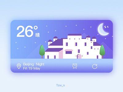 Weather widget (2) by Tzw_n