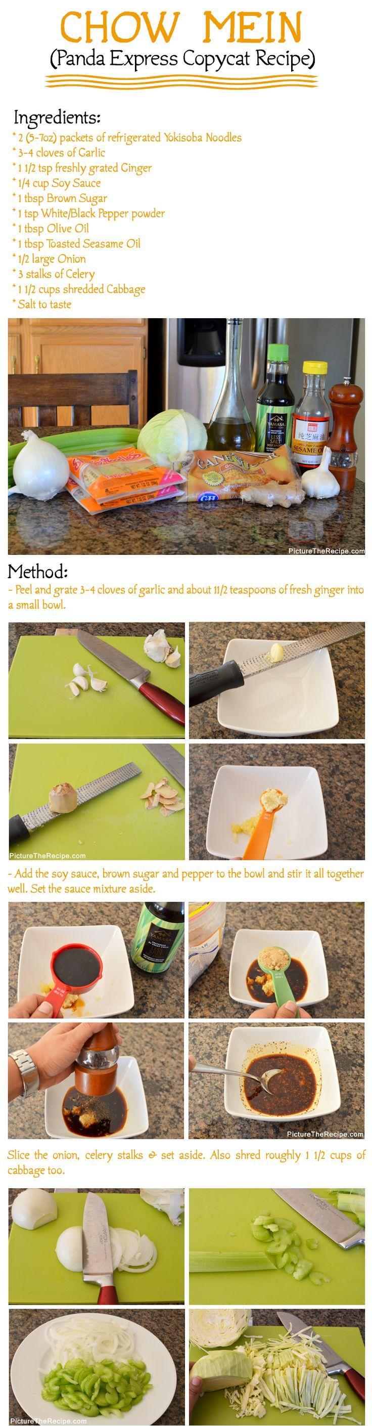 Chow Mein (Panda Express Copycat Recipe) Part-1