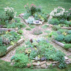 how to make a raised bed garden herb garden designherbs - Herb Garden Design Ideas