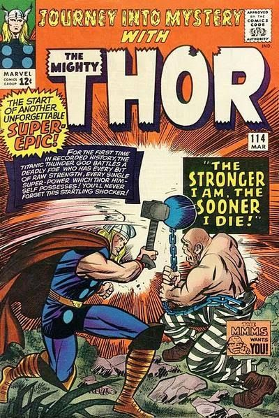 Journey into Mystery #114. Thor vs the Absorbing Man.