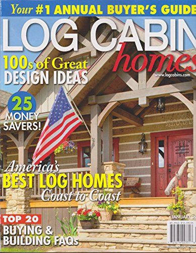 Superbe Log Cabin Homes Magazine January 2018 #logcabinhomes