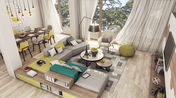 Luxurious apartment design for young couples... | Visit : roohome.com  #apartment #apartmentdesign #apartmentdecor #amazing #awesome #great #gorgeous #fabulous #interior #beautiful