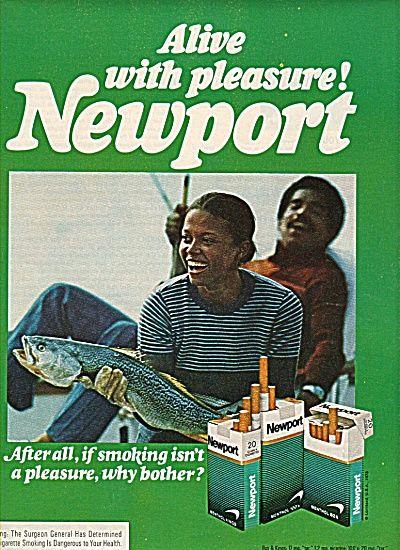 Newport cigarettes ads - Vintage Cigarettes Posters