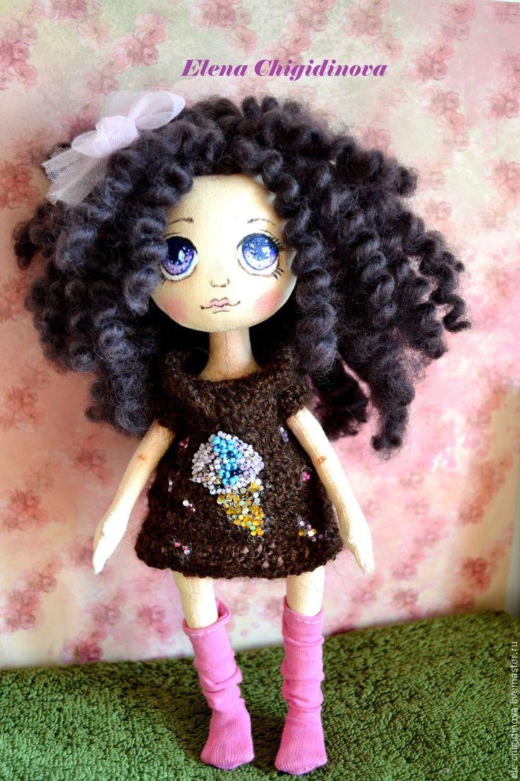 Купить Текстильная интерьерная кукла - подарок, подарок девушке, подарок на любой случай, подарок женщине
