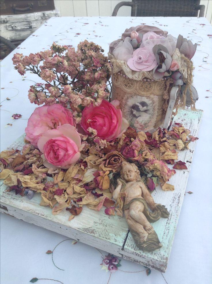 Getrocknete Rosen