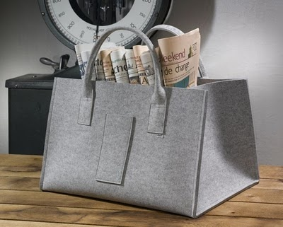 felt bag by german company daff
