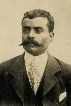 """Emiliano Zapata, a Revolutionary hero. Without a doubt, one of the best men that Mexican history can boast of. He is still an emblem for the rights of the working class. A rebel and freedom fighter, he is known to have said: """"He who wishes to be an eagle, fly; he who wishes to be a worm, crawl - but don't scream when you are stepped on."""""""