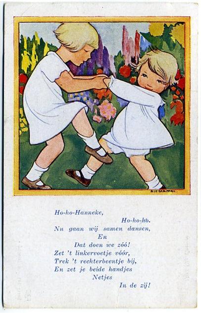 Rie Cramer-Dutch (1887-1977) postcard