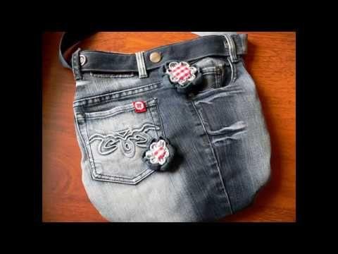 Videa  - YouTube Brooches - easy  kanzashi flower, sewing for begginers/handmade brooche/jednduchá textilní brož nejen na kabelku/ textilní Kanzashi - paráda za chviličku a zahubičku