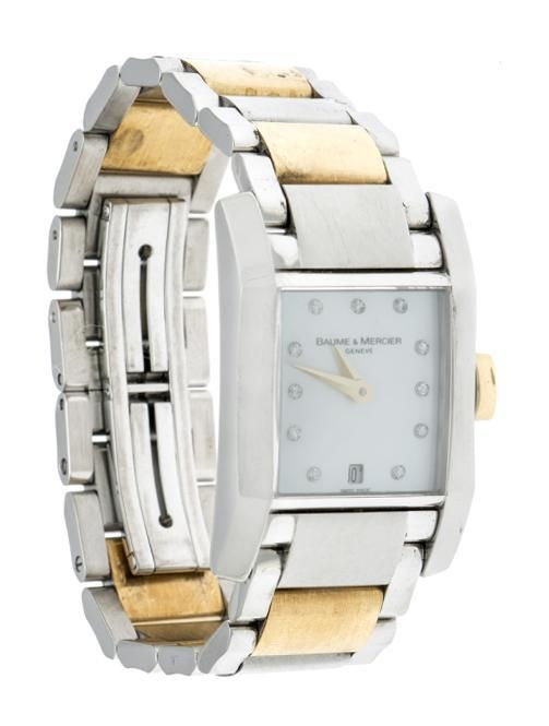 c648a176ecc0 Reloj Baume Mercier para dama modelo Hampton. – Nacional Monte de Piedad