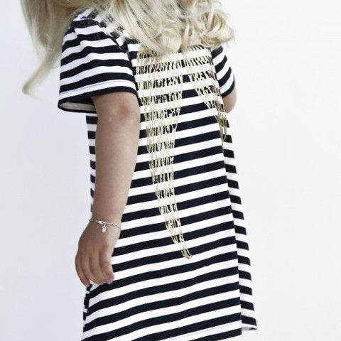 YmamaY Pearl Island Dress Nvy/Wht/Gd $62.90
