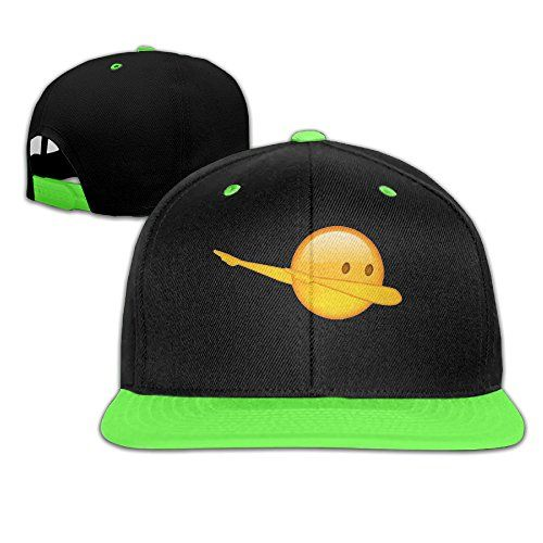 Due To Difference Computer Minitors,the Color Maybe Slightly Diffrent From Picture. Please Understand This. Dab Emoji Unisex Special Snapbacks Street Dancing Hip-Hop Visor Starter Snapback Hats Baseball Caps Adjustable Snap Comfortable Easy Fit, Recommend For Age Under 13 Quality Hat With Great Looking Suitable For Kids