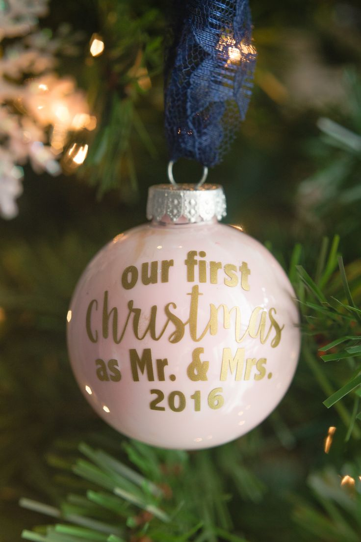 mr mrs ornament 25 48 best Christmas Ornaments