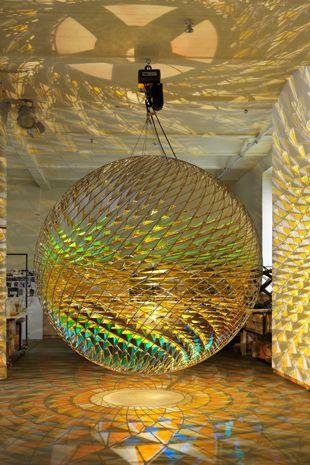 """Spherical space"" Olafur Eliasson"
