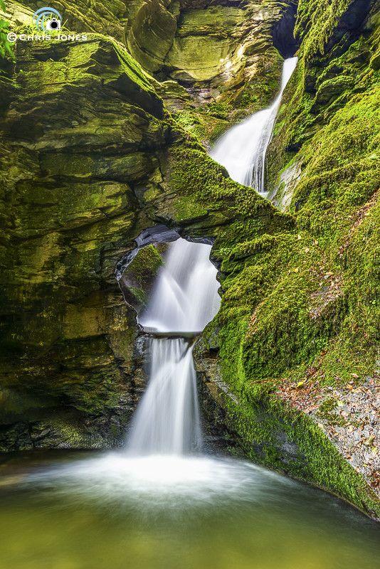 Beautiful Cornish Waterfall by Chris Jones on 500px