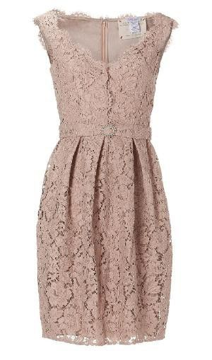 Blush lace dress.... :) I'm thinking for the rehearsal dinner!