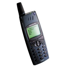 Ericsson R320    stylish with a beautiful design and great build quality