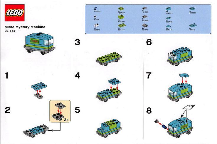 lego moc building instructions