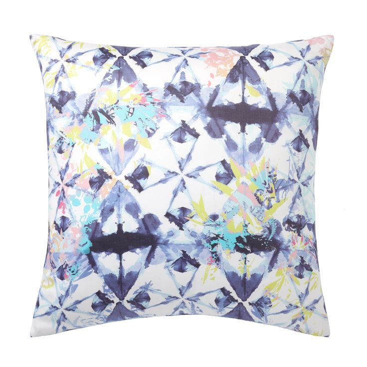 featuring vibrant longlasting color and a bold pattern that youu0027ll love our shibori floral euro pillow cover looks great on top of your bed as a fun and
