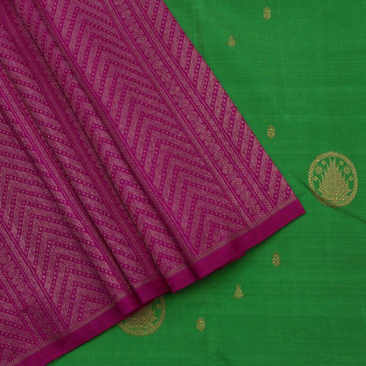 Sarangi Handwoven Kanjivaram Silk Sari - 390126205 from Sarangi * Feel Beautiful