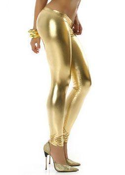 Een sexy goud kleurige metallic legging in een zeer elegante stijl. De legging heeft een fijne draagcomfort en geeft u mooi gevormde benen. #kadehandel #trendyleggingsfashion #leggings #metallicstijl #goud