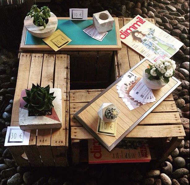 Mercatino cittadella di città alta -Bergamo-  - Vassoi handmade realizzati da…
