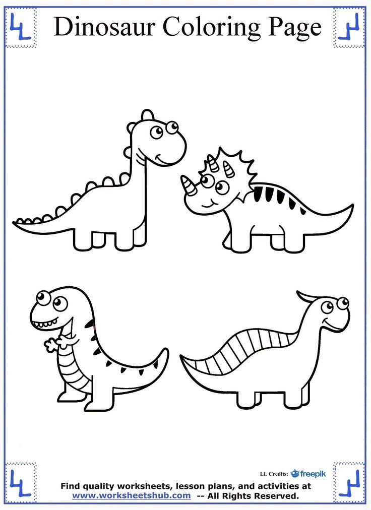 Printable Mosasaurus Dinosaur Coloring Pages Kidskat Com Coloring