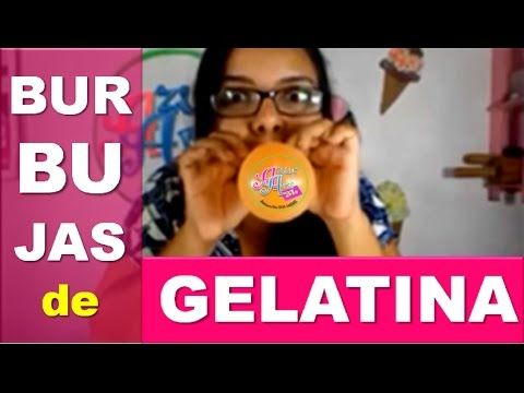 Cómo hacer pompas o burbujas de gelatina o grenetina para tartas de boda   Recetas para fiestas - YouTube