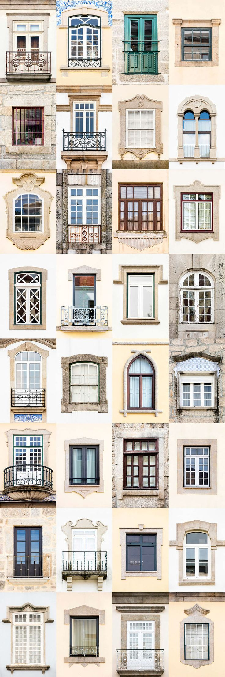 I Traveled All Over #Portugal To Photograph Windows, And Captured More Than 3200 Of Them - via BoredPanda 23-10-2017 | If you are planning a trip to Portugal, you can see which are the most beautiful cities to visit or what kind of architecture you like the most. Photo: Viseu