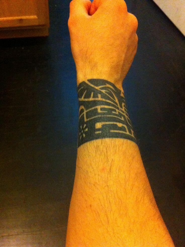 Polynesian wrist tattoo | Tattoo | Pinterest | Wrist ...