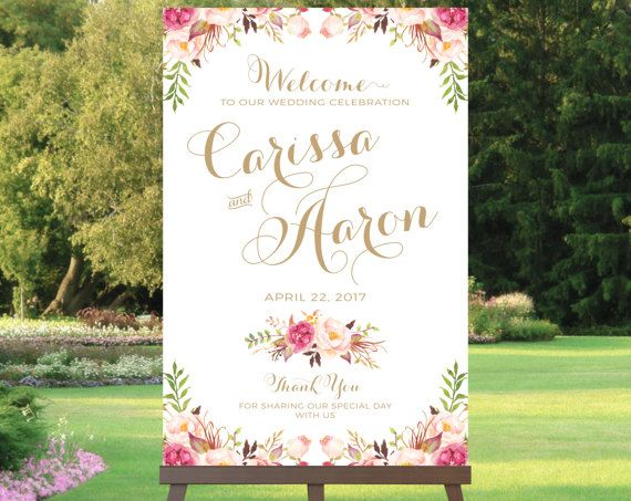 #Weddings #welcome #sign #printable #signs #invitationsandpaper #affordable